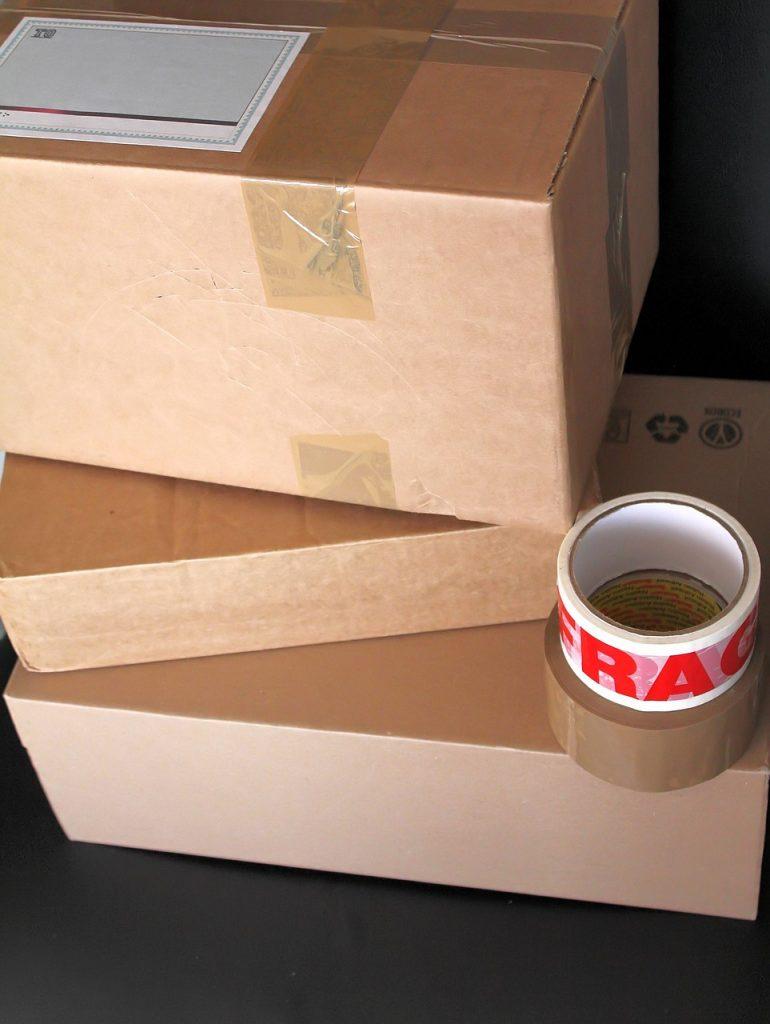 boxes, parcels, deliver